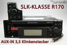 ORIGINALE Mercedes Audio 10 CD mf2199 Aux-in mp3 Autoradio r170 SLK-CLASSE w170