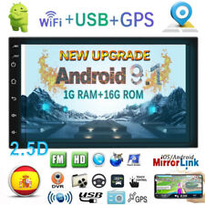 "Android 9.1 7"" 2Din Quad Core Car Autoradio NAVI GPS Touch Screen Bluetooth WiFi"