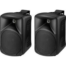 Coppia casse acustiche passive diffusori HI FI audio da esterno 2 vie 50W  8 ohm