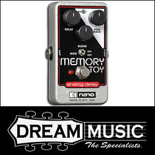 Electro Harmonix EHX Memory Toy Analog Delay With Modulation FX Pedal RRP$309