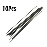 10PCS 1# 2# 10# 12#  Black Tone Carbon Steel Tooth Saw Blades