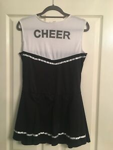 Wicked Costumes Cheerleader Fancy Dress Outfit Medium Size