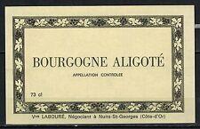 Etiquette de Vin - Bourgogne aligoté - New - Never Stuck - Réf.n°96