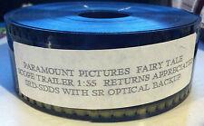 Fairy Tale A True Story Promo Movie Trailer 35mm Fairies Peter O'Toole 1997