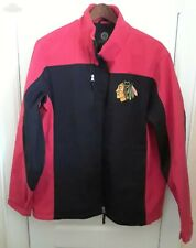 GIII Chicago Blackhawks Full Zip Lined Jacket Large