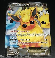Flareon EX RC28/RC32 XY Generations Radiant Collection FULL ART Pokemon Card