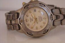 Seiko AGS Scuba. Gents titanium watch. 3M22-0010. ULTRA RARE, cream dial Kinetic