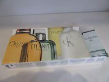 Calvin Klein Fragrances for Men -Travel Edition 5 x 15ml EDT Fragrances -New