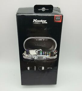 Master Lock Safe Space Portable Personal Safe 5900D CLAM. Open Box
