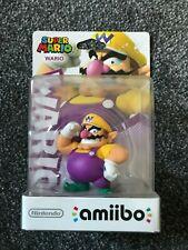 Wario amiibo - Super Mario Collection - BRAND NEW SEALED! RARE!