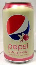 FULL NEW 12oz 355ml Can American Pepsi Cherry-Vanilla USA 2016 Limited Edition