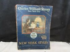 antique CHARLES WILLIAMS STORE CATALOG New York City Fall/Winter 1924 fashions++