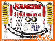 "TOYOTA HILUX KUN/GGN 2005-ON RANCHO & ARCHM4X4 3""INCH 75mm SUSPENSION LIFT KIT"