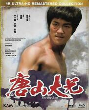 The Big Boss Blu Ray 4K Ultra HD Remasterd Bruce Lee NEW Eng Sub