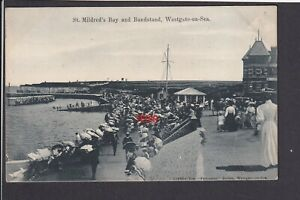 Kent - Westgate-on-Sea St. Mildred's Bay and Bandstand - Postcard