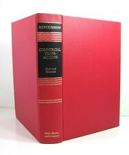 COMMERCIAL TRANSACTIONS Cases and Materials Soia Mentschikoff Law 1st Printing