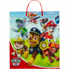 "Paw Patrol Dogs Deluxe  Halloween Treat Loot Party Tote Bag 16"" x 14"" NEW"