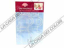 PERGAMANO - MASCHERINE FUSTELLE - BAG TEMPLATE 02