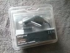 Creative Zen Zen Stone Stone Car Charger New Oem
