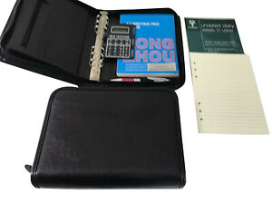 Special Clearance A5 size Zipped Ring Binder suitable for Filofax Undated 22