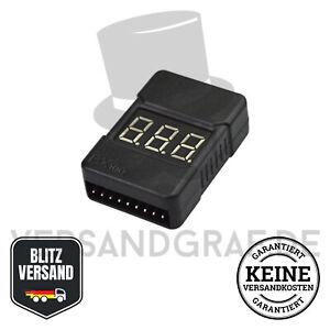 Low Voltage Buzzer Lipo Alarm Piezo Tester Checker Warner Saver Spannung Gehäuse
