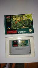 Secret of mana SNES super nintendo version entierement francaise