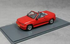 OPEL CORSA SPIDER I120 1985 RED NEO 45915 1/43 ROSSO ROT ROUGE CABRIOLET RESINE