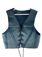 2384db18ba Ellery Freda Vest Corset Womens US 4 Blue Black Lace Formal Suit Top SMALL   389
