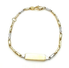 Bracelet Gold 18 CT White And Yellow From