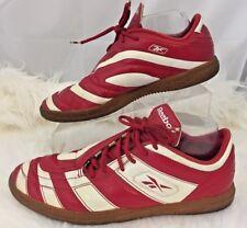 Reebok Club Deportivo Guadalajara Chivas Red White Leather Tennis Shoes Size 8