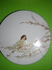 Otagiri Lacquerware Coasters Chickadee Design