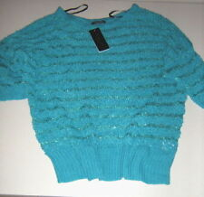 Chunky, Cable Knit Crewneck Textured Jumpers & Cardigans for Women