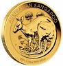 2021 P Australia Gold Kangaroo 1/10 oz Gold $15 Coin GEM BU