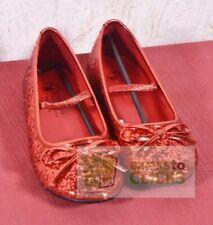 Halloween Costumes- Dress-up Girls' Ballet Costume Shoe- Red S, 11-12