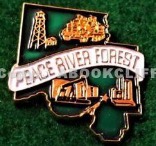 PEACE RIVER FOREST SERVICE ALBERTA CANADA Mint Lapel Pin