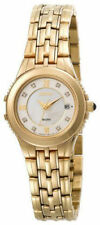 Seiko Gold Plated Case Women's Adult Wristwatches