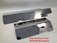 Camaro Firebird 1993 LT1 Stainless FUEL RAIL COVERS w CHROME CAPS Engine