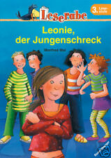 Leserabe 3. Klasse Leonie der Jungenschreck Lesen Lernen Ravensburger + BONUS