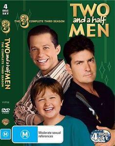 Two And A Half Men : Season 3 (DVD, 2008, 4-Disc Set)