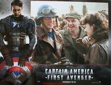 CAPTAIN AMERICA 6 Photos Cinéma Lobby Cards CHRIS EVANS