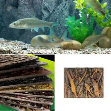 3D Foam Rock Reptile Stone Aquarium Background Backdrop Fish Tank Board Decor