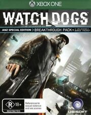 Watchdogs (X-Box One)[ANZ Special Edition] Breakthrough Pack (Brand New) Rated R