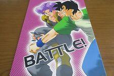 Doujinshi Dragon Ball yaoi GOTEN X TRUNKS (B5 24pages) p-s BATTLE!