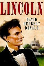 Lincoln by David Herbert Donald (1995, Hardcover)