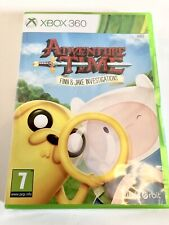 Adventure Time Finn and Jake Investigations (xBox 360) New Sealed.