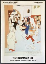 Néret-minet Tintinomania III Catalogue of Sale Comics 28 May 1994 Good Condition