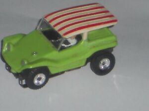 VINTAGE AURORA TJET #1399 DUNE BUGGY COUPE RARE SUPER NICE HO SLOT CAR