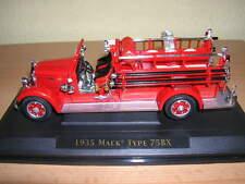 Yatming  1935 Mack Type 75BX Feuerwehr Fire Fighter 1:43