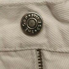 Vintage Weiß Gap Denim Herren Jeans 33 x 30