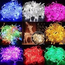 10M 100 LED Xmas Christmas Tree Fairy String Lights Lamp Party Wedding Decor